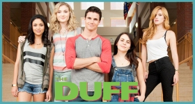 Now we all get to wonder if we're the unattractive friend in the squad. Photo by The DUFF movie.