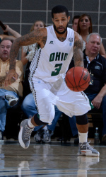 Bean Willis may be sidelined following a sprained ankle suffered in Tuesday's loss. | ohiobobcats.com