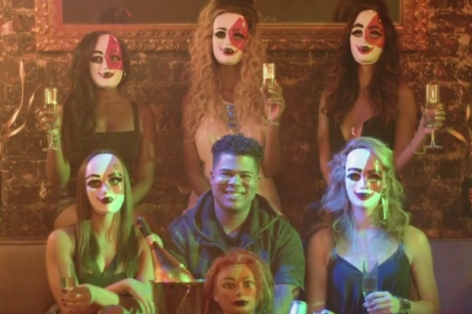 "iLoveMakonnen in the ""Tuesday"" music video. Photo courtesy of hypebeast.com"