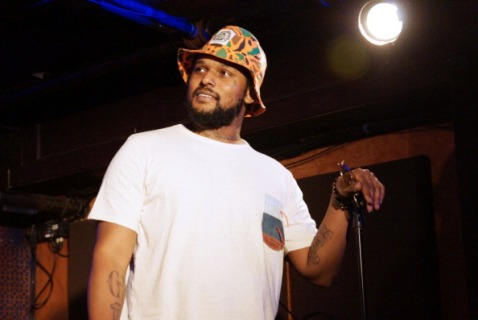 Schoolboy Q at the mic. Photo courtesy of rap radar.com