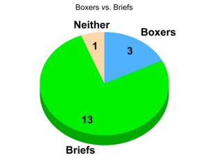 Boxers vs. Briefs