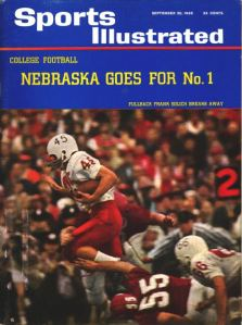 "In his junior year at Nebraska ""Fearless Frankie"" found himself on the cover of SI."