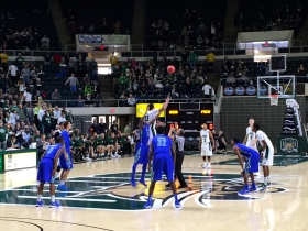 Ohio's victory over FGCU was it 12th consecutive season-opening win. (Photo by Corbin Bagford)