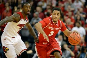 Jaaron Simmons began his college career at the University of Houston. (Photo by Jamie Rhodes, USA TODAY Sports)