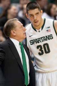 Kenny Kaminsky chose to enroll at Ohio after being dismissed from Michigan State's program. (Photo by Julia Nagy, The State News)
