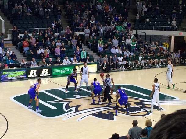 Ohio wrapped up non-conference play with a 81-56 victory over UC-Riverside. (Photo by Corbin Bagford)