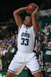 Antonio Campbell led Ohio with a career-high 20 rebounds in Saturday's 76-64 victory over Miami. (Photo: OhioBobcats.com)