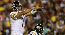 Ben Roethlisberger's three-touchdown performance led Pittsburgh to a dominating win over Washington in week one. (Photo: Chatsports.com)