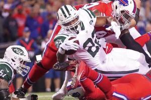 Matt Forte's three touchdowns led the Jets to a six-point win over Buffalo last Thursday. (Photo: upi.com)