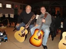 Paul Karp (right)